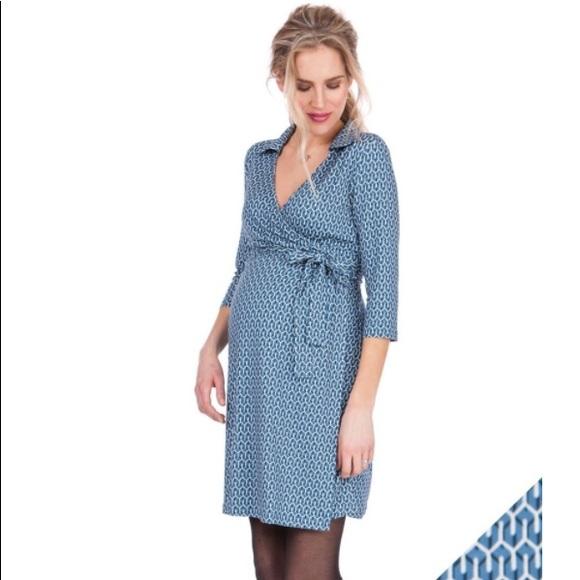 b95a39b5c9027 Seraphine Dresses | Sale Wrap Maternity Dress | Poshmark